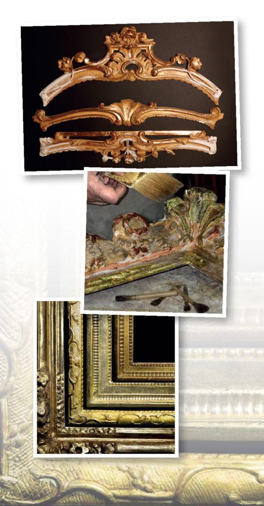Restauration des bois dorés