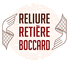 Reliure Retière Boccard