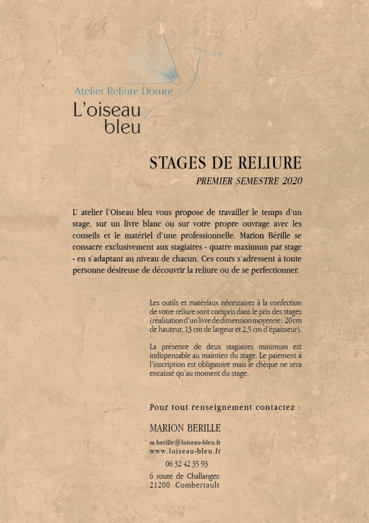 programme stage 2020 recto